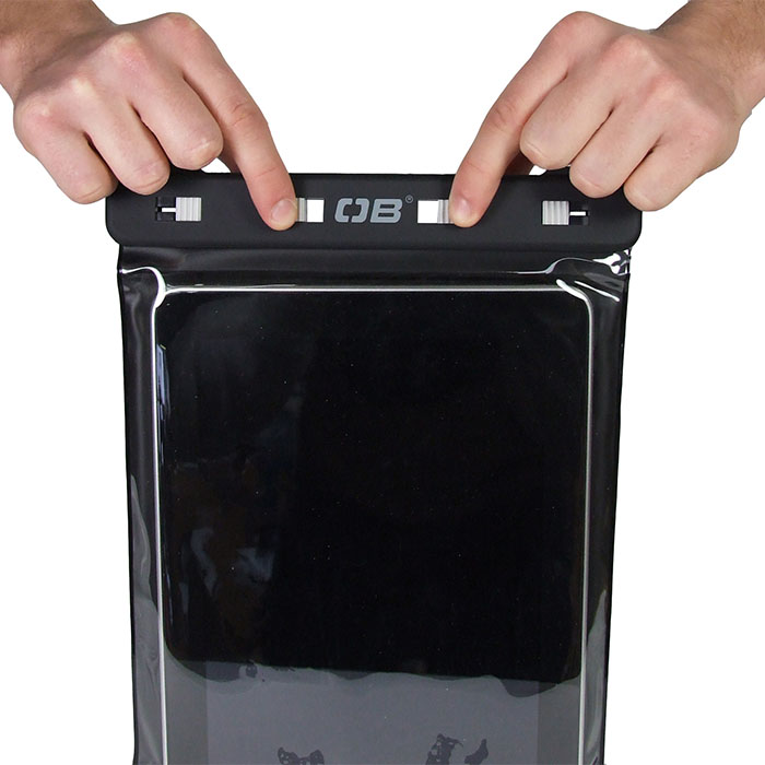 Водонепроницаемый чехол OverBoard OB1086BLK - Waterproof iPad Case with Shoulder Strap (Black) Фото 8